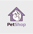 pet shop clinic vector image