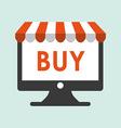buy on line design vector image