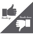 Human Hand design vector image vector image