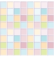 Seamless mosaic from colorful squares vector image vector image