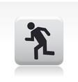 security exit icon vector image vector image