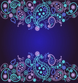Decorative beautiful background vector image