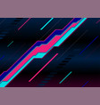 abstract neon laser lines geometric tech vector image
