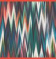 blurred colorful ikat chevron tribal ethnic motif vector image
