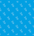 click pattern seamless blue vector image vector image