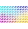 Colorful mosaic texture - Rainbow colors vector image vector image