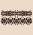 ethnic seamless stripe pattern decorative vector image