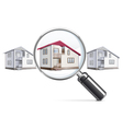 House with Lens vector image vector image