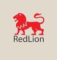 redlion logo vector image vector image
