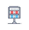 score - modern line design icon vector image vector image