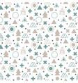 textile tribal background geometric scandinavian vector image