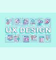 ux design word concepts banner