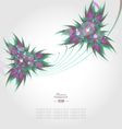 Abstract decorative background vector image vector image