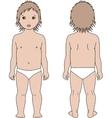 Child figure vector image vector image