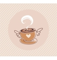 coffee cap vector image
