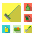 design of cleaning and service symbol vector image