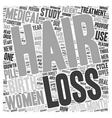 Hair Affair A Story Of Loss And Revival text vector image vector image