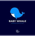 logo baby whale swimming club diving goods