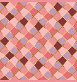 seamless pattern in red pink violet and golden vector image