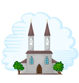 Temple Church Background vector image