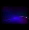 abstract purple blue background vector image