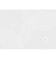 Abstract white circles technology background vector image vector image