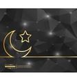 creative crescent islamic art
