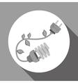 eco plug design vector image vector image
