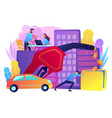 fuel economy concept vector image