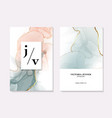 marble template artistic covers design colorful vector image
