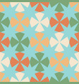 seamless pattern with geometric figures and eight- vector image vector image