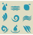 Water an icon vector | Price: 1 Credit (USD $1)