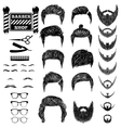 barber set 1 vector image