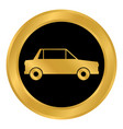 car button on white vector image vector image
