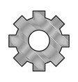 gear object machine vector image vector image
