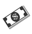 money bill economy finance icon graphic vector image vector image