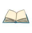 open book cartoon symbol icon design beautiful vector image