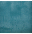 blue grunge pixels backdrop vector image vector image