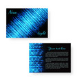 bright catalog with neon light vector image vector image