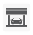 car center icon vector image