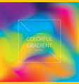 colorful abstract gradient background vector image vector image