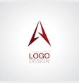 gps technology logo vector image
