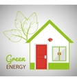 Green energy and ecology vector image