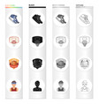 kodes shoes leather and other web icon in vector image vector image