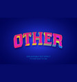 other editable stylish text effect realistic 3d