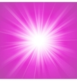 Pink and white abstract magic light background vector image vector image