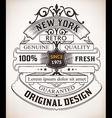 retro design vector image vector image