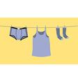 Mens underwear vector image