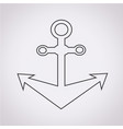 anchor icon vector image vector image