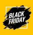 black friday sale abstract background banner vector image